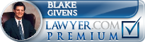 Blake Givens  Lawyer Badge