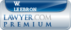 W. Michael Leebron  Lawyer Badge