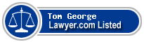 Tom George Lawyer Badge