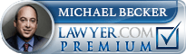 Michael Becker  Lawyer Badge