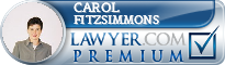 Carol A. Fitzsimmons  Lawyer Badge
