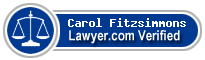 Carol A. Fitzsimmons  Lawyer Badge