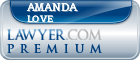 Amanda J. Love  Lawyer Badge