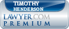 Timothy R. Henderson  Lawyer Badge