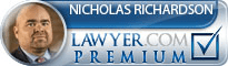 Nicholas W. Richardson  Lawyer Badge