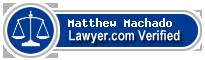 Matthew Machado  Lawyer Badge