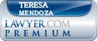 Teresa L. Mendoza  Lawyer Badge