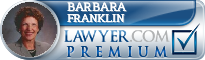Barbara L. Franklin  Lawyer Badge