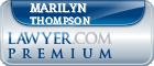Marilyn Thompson  Lawyer Badge
