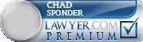 Chad B. Sponder  Lawyer Badge