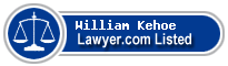 William Kehoe Lawyer Badge