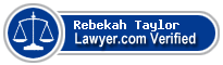 Rebekah Chrisholm Taylor  Lawyer Badge