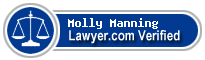 Molly Ann Manning  Lawyer Badge