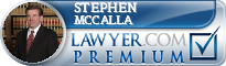 Stephen R. McCalla  Lawyer Badge