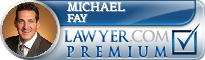 Michael J. Fay  Lawyer Badge
