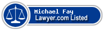 Michael Fay Lawyer Badge