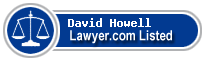 David Howell Lawyer Badge