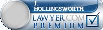J. David Hollingsworth  Lawyer Badge