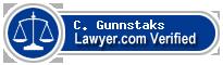 C. Luke Gunnstaks  Lawyer Badge