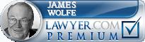 James N. Wolfe  Lawyer Badge
