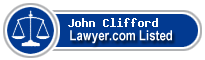 John Clifford Lawyer Badge