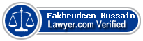 Fakhrudeen Hussain  Lawyer Badge