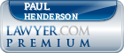 Paul L. Henderson  Lawyer Badge