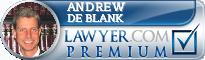 Andrew S. de Blank  Lawyer Badge
