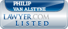Philip Van Alstyne Lawyer Badge