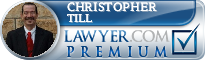Christopher S Till  Lawyer Badge