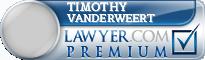 Timothy J Vanderweert  Lawyer Badge