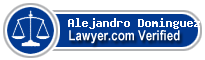 Alejandro Dominguez  Lawyer Badge