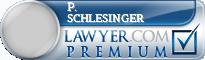 P. Jeffrey Schlesinger  Lawyer Badge
