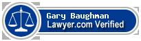 Gary Duane Baughman  Lawyer Badge