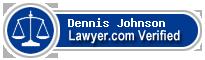 Dennis R. Johnson  Lawyer Badge