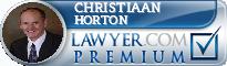 Christiaan D. Horton  Lawyer Badge
