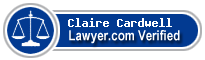 Claire Grimmer Cardwell  Lawyer Badge