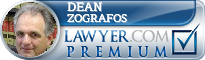 Dean T. Zografos  Lawyer Badge