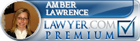 Amber Lawrence  Lawyer Badge