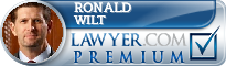 Ronald M. Wilt  Lawyer Badge