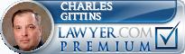 Charles W. Gittins  Lawyer Badge