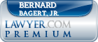 Bernard J. Bagert, Jr.  Lawyer Badge