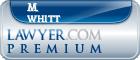 M. Devin Whitt  Lawyer Badge