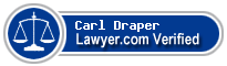 Carl R. Draper  Lawyer Badge