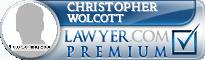 Christopher Steven Wolcott  Lawyer Badge