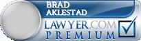 Brad Aklestad  Lawyer Badge