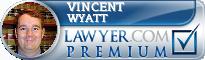 Vincent P. Wyatt  Lawyer Badge