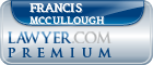 Francis X. McCullough  Lawyer Badge