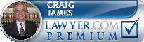 Craig T. James  Lawyer Badge
