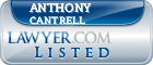 Anthony Cantrell Lawyer Badge